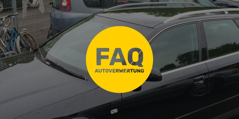 FAQ Kategorie: Autoverwertung